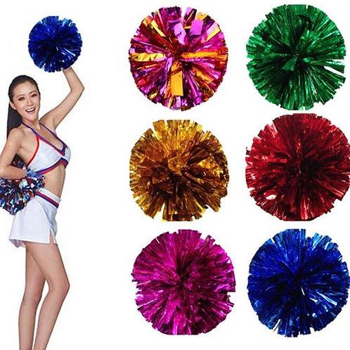 1pc Foil Ball Cheerleader Pompoms