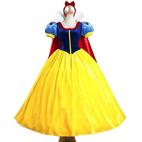 Youth & Adult Snow White Cosplay Costume