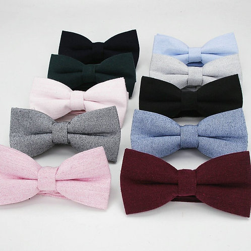 Basic Cotton Bow Ties