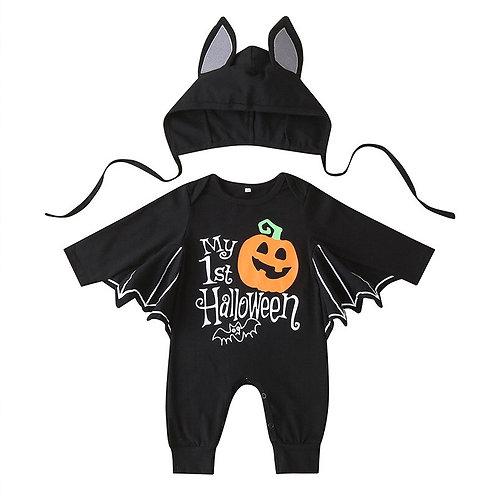 2 Piece Baby Bat Halloween Set