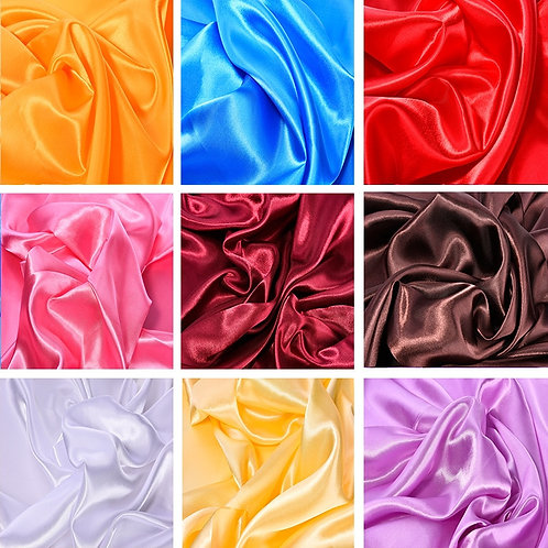 50cm*150cm Satin Fabric Lined With Silk