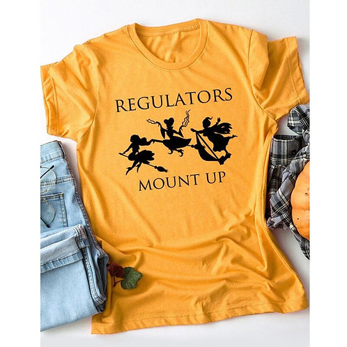 "Hocus Pocus ""Regulators Mount Up"" Tee Shirt"