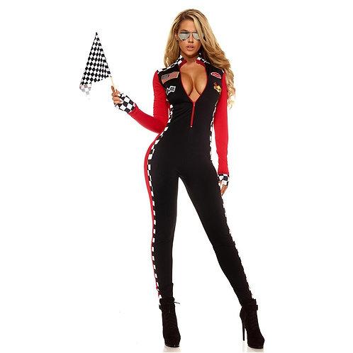 Adult Speed Racer Costume Bodysuit