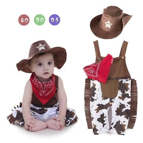 Baby Cowboy Bodysuit Costume