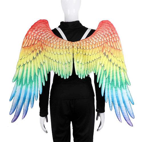 Adult Rainbow Angel Wings