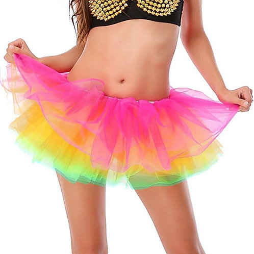 5 Layered Adult Rainbow Tutu