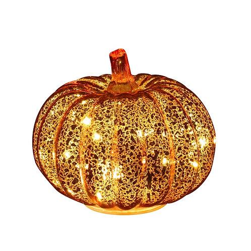 Short Pumpkin Flameless Candles