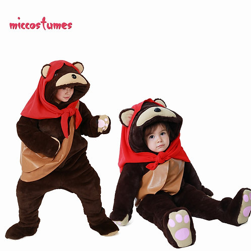 Youth Ewok Cosplay Costume