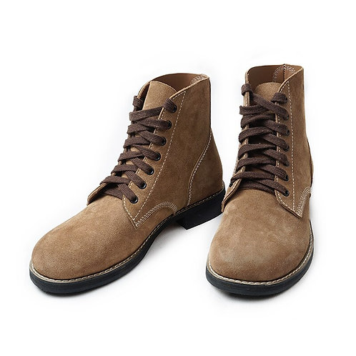 WW2 GI Rough Out Ankle Boots - US Army