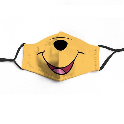 Honey Pooh Character Face-Mask