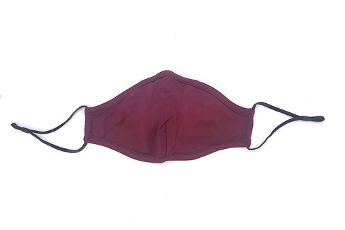 Bamboo Maroon Soft Breathable Face Mask