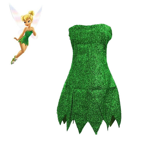 Tinker Bell Adult Cosplay Dress