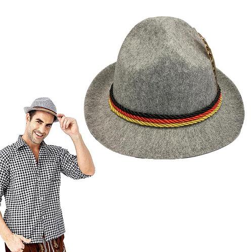 Adult Bavarian Oktoberfest Tyrolean Hat