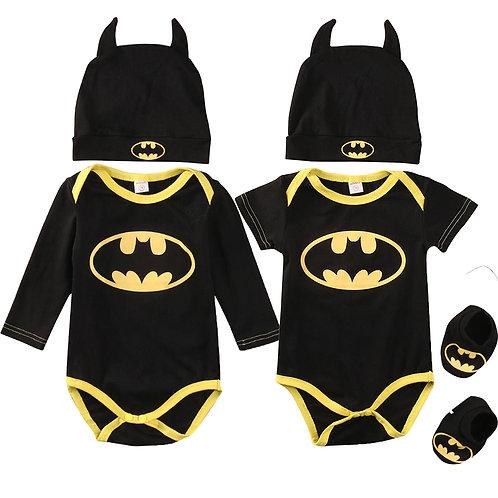 Batman Romper Costume Outfit