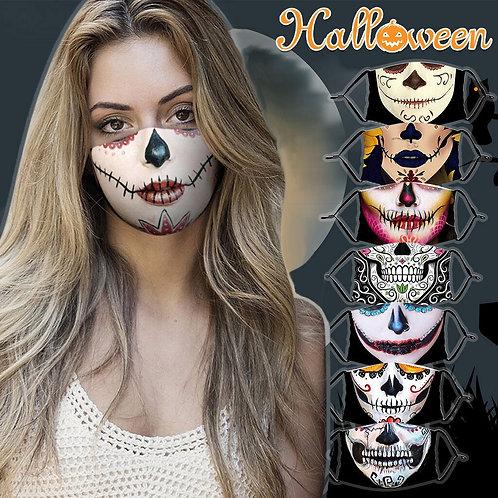 Novelty Halloween Skull Face Mask