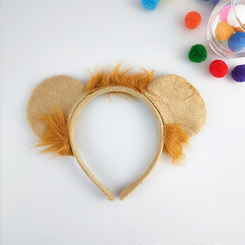 Lion Ear Headband & Accessories