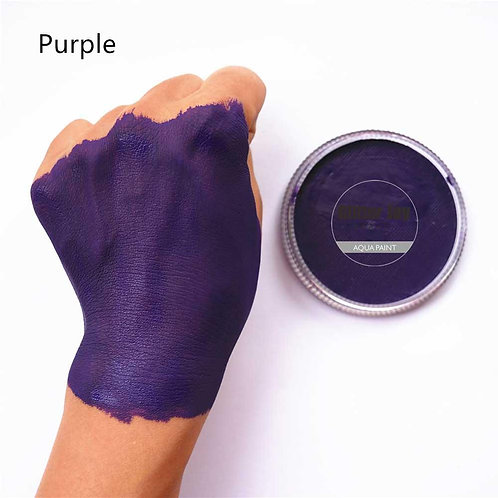 Water Based Purple Face & Body Paint