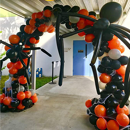 142 Piece Halloween Balloon Garland Arch Kit
