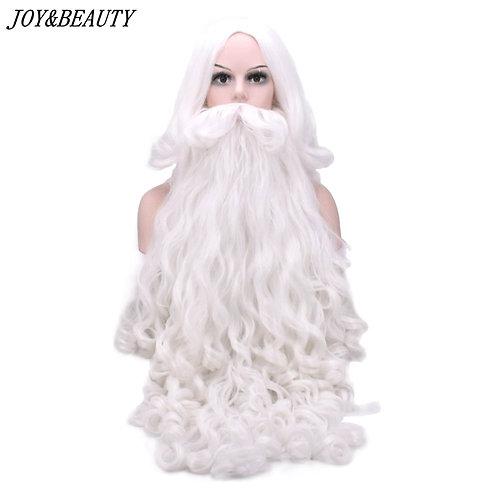 JOY&BEAUTY Deluxe Santa Claus Wig & Beard