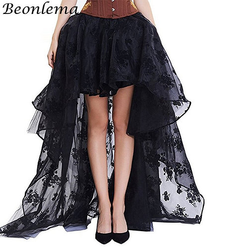 Adult Gothic Tulle Bustle Skirt