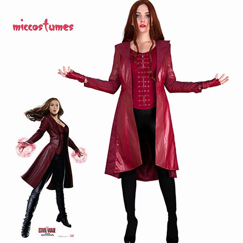 """""""Avengers"""" Deluxe Scarlet Witch Cosplay Costume"""