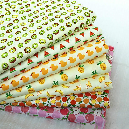 100% Twill Cotton Fabric Bedding Children's Clothing Accessories