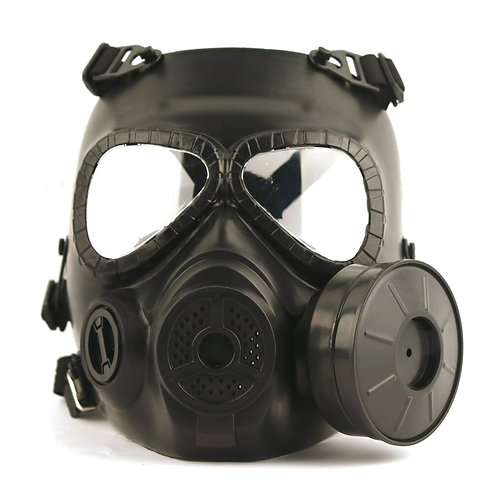 Gas Mask Stage & Film Performance Prop