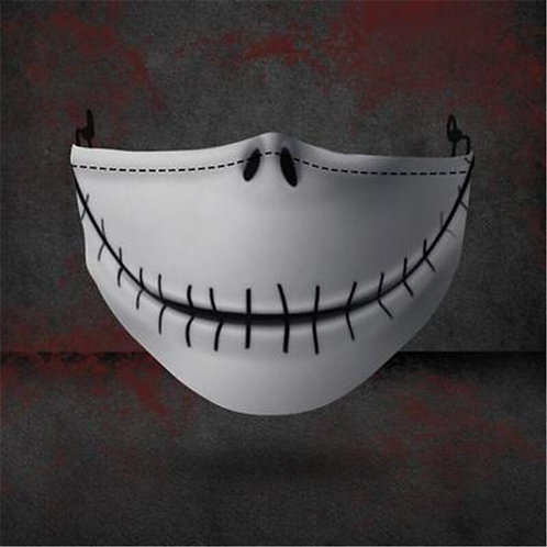 """The Nightmare Before Christmas"" Jack Skellington Novelty Cloth Mask"