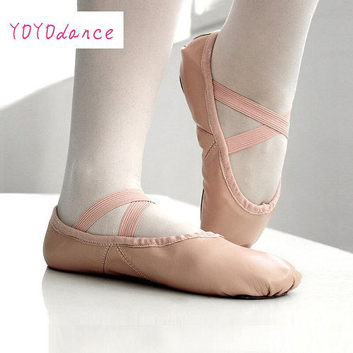 Adult Leather Split or Full Sole Ballet Shoes