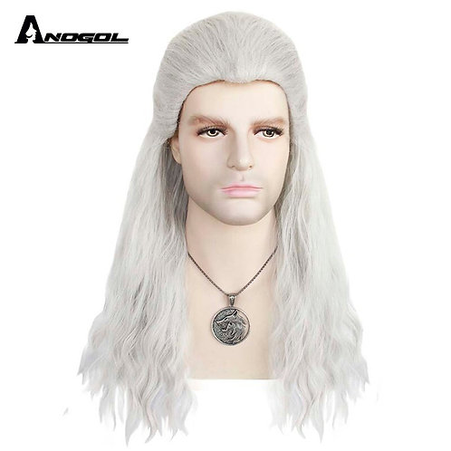 """""""The Witcher"""" Geralt Costume Wig"""