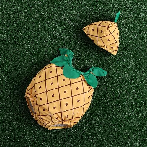 Baby Pineapple Costume Romper
