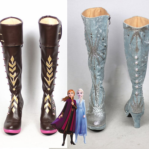 """""""Frozen 2"""" Tailor-Made Cosplay Costume Boots"""