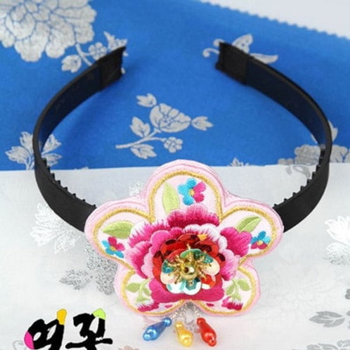 Youth Korean Traditional Hanbok Accessory Headband