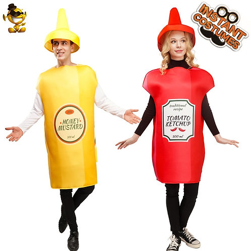 Ketchup and Mustard Costumes