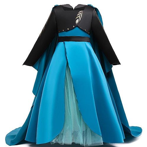 """Frozen 2"" Deluxe Anna Cosplay Costume Dress"