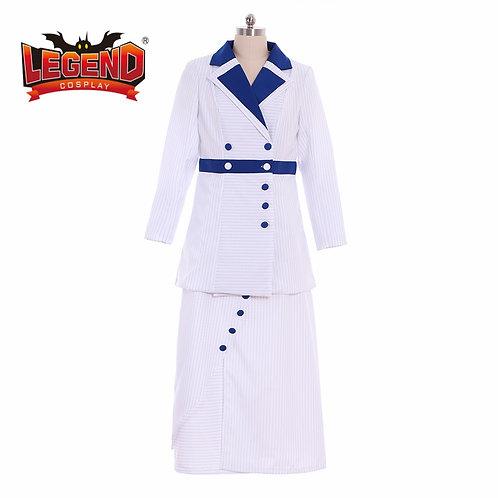 """""""Titanic"""" Rose Edwardian Era Cosplay Costume Suit"""