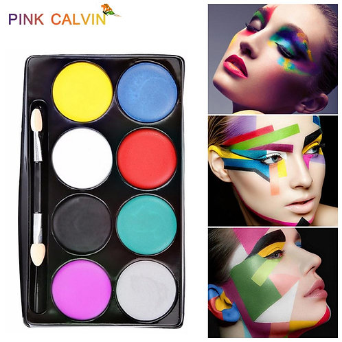 8 Colors Face Paint Halloween Makeup Kit