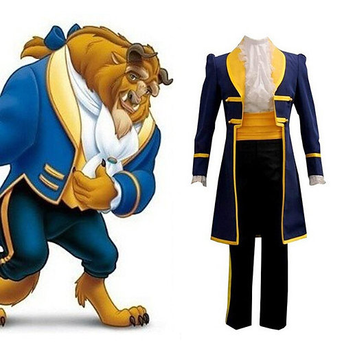 """Beauty and the Beast"" Adult Cosplay Costume"