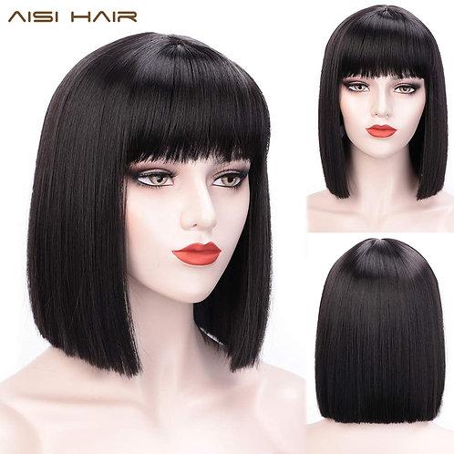AISI HAIR Synthetic Bob Wig