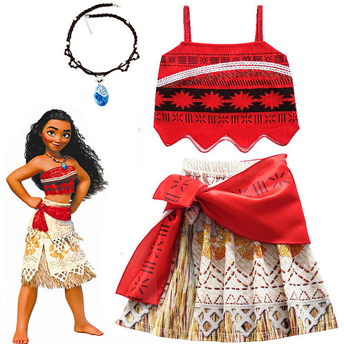 Moana Cosplay Costume Set