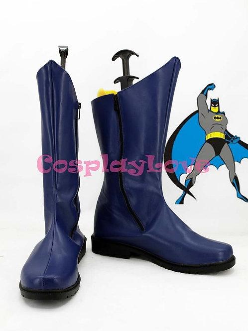 Batman Blue Cosplay Boots