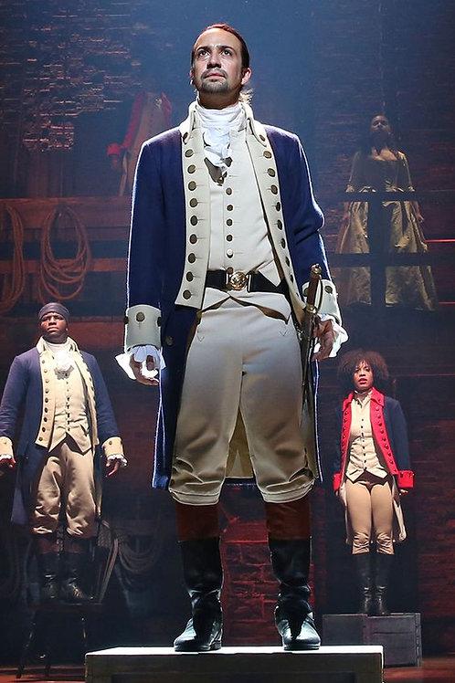 """Hamilton"" Alexander Hamilton Colonial Military Cosplay Costume"