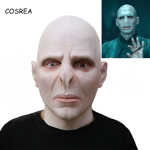 """Harry Potter"" Voldemort Mask & Wand"