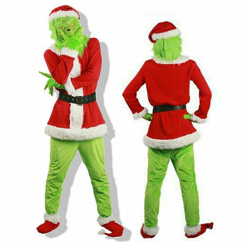 Adult Grinch Cosplay Costume
