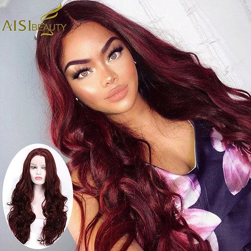 "28"" Long Loose Wave Lace Front Wig - 6 Colors"