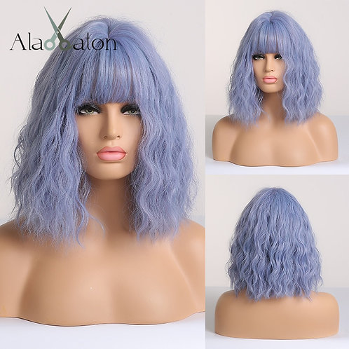 Short Water Wave Synthetic Cosplay Wig