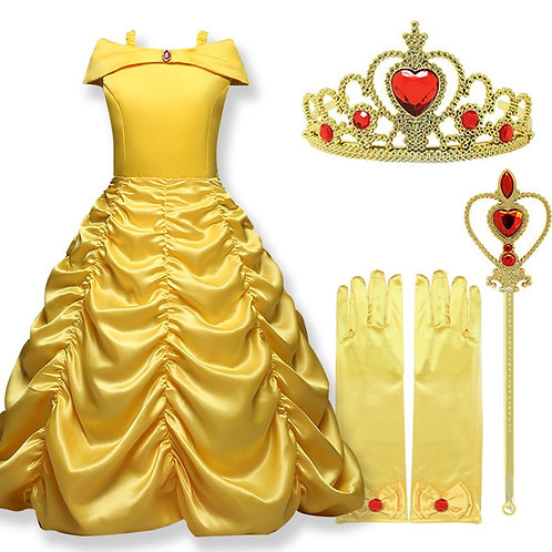 """""""Beauty & The Beast"""" Youth Belle Cosplay Gown"""