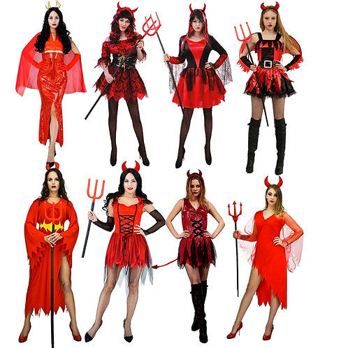 Adult Novelty Devil Costume Dresses