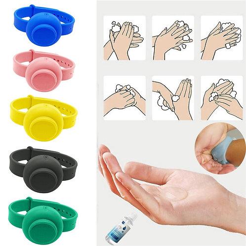 Refillable Hand Sanitizer Dispenser Wristband