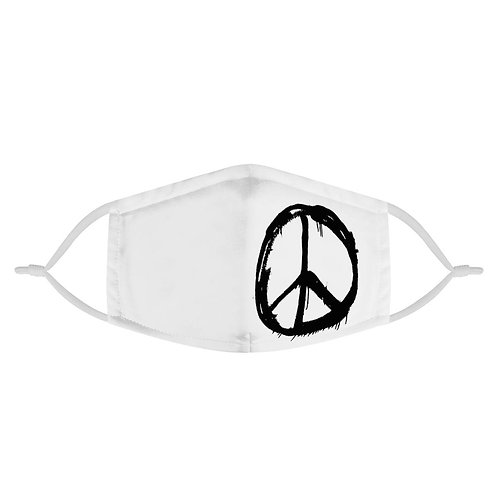 Peace Sign Graffiti | Fashion Face Mask